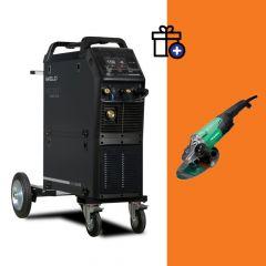 Iweld MIG 2800T Double pulse hegesztő inverter + Hikoki G23ST sarokcsiszoló (egyedi csomagajánlat)