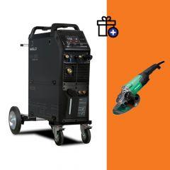 Iweld MIG 3200 Double pulse hegesztő inverter + Hikoki G23ST sarokcsiszoló (egyedi csomagajánlat)