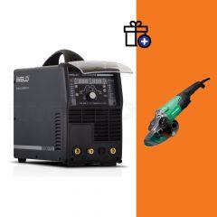 Iweld TIG 320 AC/DC Multiwave RC hegesztő inverter + Hikoki G23ST sarokcsiszoló (egyedi csomagajánlat)