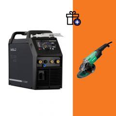 Iweld TIG 3200 AC/DC Multiwave RC hegesztő inverter + Hikoki G23ST sarokcsiszoló (egyedi csomagajánlat)