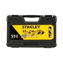Stanley 51 részes vegyes szerszámkészlet