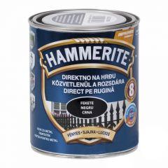 Akzo Hammerite Fényes zománcfesték Fekete 0,75 L