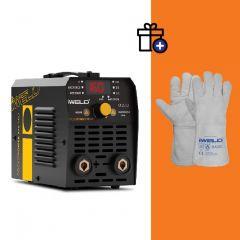 Iweld Gorilla Pocketpower 170 VRD (160A) Hegesztő inverter + Iweld Basic hegesztő védőkesztyű (egyedi csomagajánlat)
