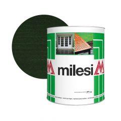 Milesi Vékonylazúr Viaszos Sötétzöld 1 l  XGT 614